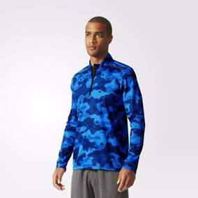 Campera Adidas Climacool Training Running Color Azul Militar