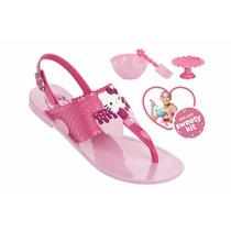 Sandália Infantil Hello Kitty 21375 Snob Calçados-s1