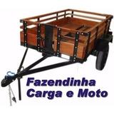 Projeto Carretinha De Carga Reboque Fazendinha Pdf