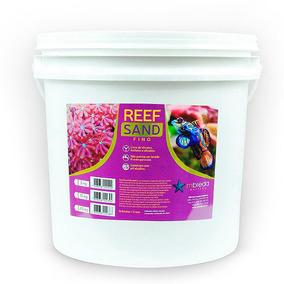 Substrato Marinho Reef Sand Fino Mbreda 20kg Corais Marinhos