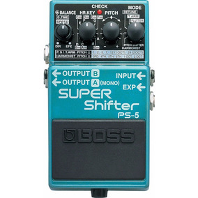 Pedal Boss Ps-5 Super Shifter