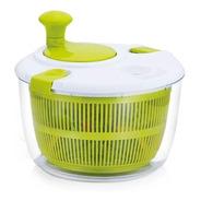 Seca Salada Centrífuga Travas Secador Folhas Alfaces Verduras Manual Frete Grátis