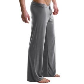 Salón Corto De Los Hombres Pantalones Pijamas... (grey, S)