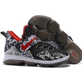 b9e9f1ba2f3c2 Tênis Nike Lebron 14 Xiv Novo Original.