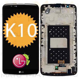 Modulo Frontal Tela Touch Lcd Display Lg K10 - C/ Aro