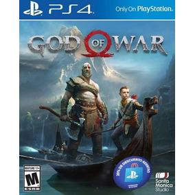 God Of War Ps4 Fisico + Sellado + Original (hay Stock)