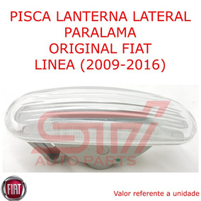 Lanterna Refletor Lateral Paralama Pisca Linea 2009-2016