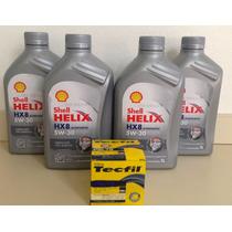 Kit Oleo Shell 5w30 (4und)+ Filtro Lubri Hyndai I30