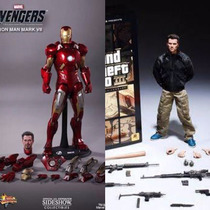 Combo Hot Toys Iron Man Mark Vii + Gta 3 Claude Speed 1/6