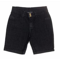 Bermuda Feminina Jeans Plus Size Peq Defeito 44 48 52 56 58