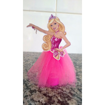Personalizado Kit 10 Tubete Barbie Com Tule