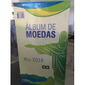 Coleçao Completa Das Moedas Das Olimpiadas Do Rio 2016
