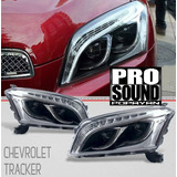 Farolas Ojo De Angel Black Para Chevrolet Tracker..nuevas!