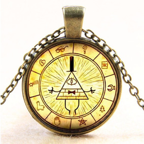 Gravity Falls Collar Envio Gratis Dije Bill Cipher Diario 3