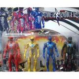 Muñecos Power Rangers En Blister X 4