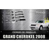 Cobertor Cromado De Manillas Grand Cherokee 2006 Al 2010
