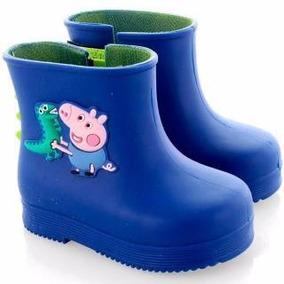 Bota Galocha Peppa Pig Ou George Grendene