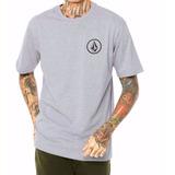 f1aa41dcd5 Camiseta Volcom Mini Circle Preta- 100% Algodão