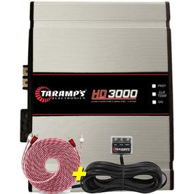 Taramps Hd 3000 Amplificador Digital 3000 Wrms Dsp + Brinde