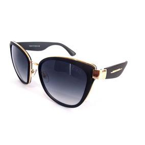 f60714c8cb Óculos De Sol Blogueira Estilo Gatinho Fashion Rayban Barato