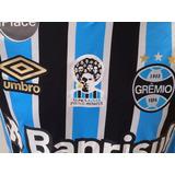 Camisa Tricolor Do Grêmio Luan De Jogo Único Game 918bc2a4c3cff