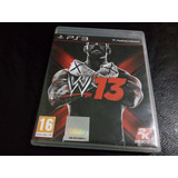 Juego Ps3 W13 Fisico Impecable
