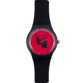 Reloj En Nuestras Manos Negro