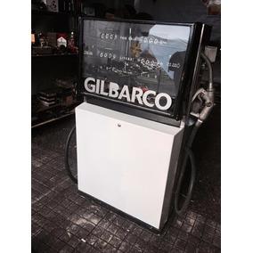 Antiga Bomba De Gasolina Gilbarco Anos 60 E 70 Vintage