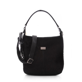 Bolso Blaque Tipo Gamuza /prune/extra Large 6 Cuotas Sin Int