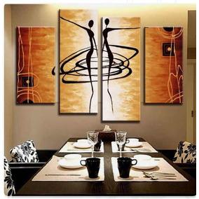 Cuadros Modernos Trípticos Etnicos Áfricanas Decorativos Art
