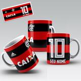 Caneca Porcelana Personalizada Time Flamengo 1ed28a4c61a49