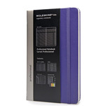 Caderno Moleskine Profissional Grande Violeta 0196