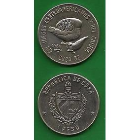 Grr-moneda De Cuba 1 Peso 1981 - 14° Juegos Centroamericanos