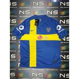 Camiseta Boca Suecia 2010 Reedicion Retro 105 Años Envios