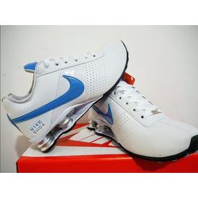 Tenis Nike Shox 4 Molas Classic Couro Mega Oferta
