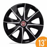 Carlota Esporti 13 Prime Black Silver Preta Fiat Palio Uno V