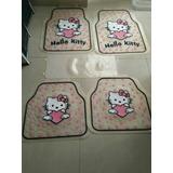 Alfombra Goma Para Vehículo Hello Kitty (5 Piezas)