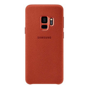 Funda Samsung Galaxy S9 Alcantara Cover Red