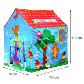 Carpa Casita Kids House Infantil Nene Nena + 3 Años Best Way