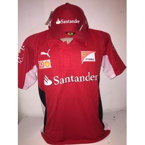 Kit Camiseta + Boné Santander Polo Lançamento Promoção b6b4e135e29
