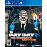 Payday 2 Crimewave Edition Ps4 Digital * Juga Con Tu Usuario