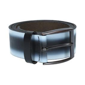 2244_cinturón Krems 06 | Cinturón De Piel Negro
