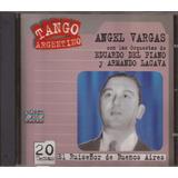Cd Angel Vargas El Ruiseñor De Bs. As. Serie Tango Argentino