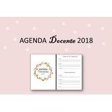 Agenda Docente 2018 Imprimible - Estilo Bullet Journal