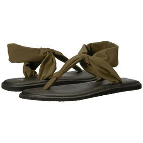 Sandalias Sanuk Yoga Sling Ella Verde Oscuro S.1 e6551c0c4a41