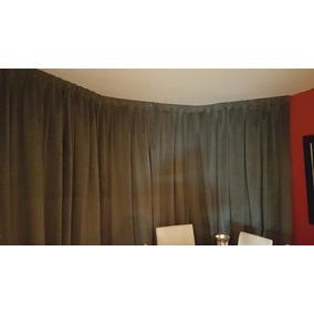 Cortinados Calidad Hotelera Telones Moderno Pana, Terciopelo