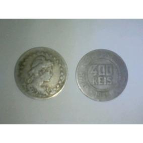 Moeda Antiga 400 Reis