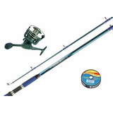 Combo Equipo Waterdog Coral Spinning Marine Sport + Regalo