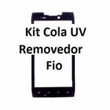Tela Vidro Lente Visor Motorola Razr Hd Xt910 + Kit Uv Remov