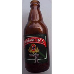 Garrafa Cerveja Malzbier Antactica - 300 Ml - Ano 1997- Q